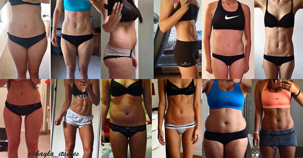 bikini body guide prima dopo