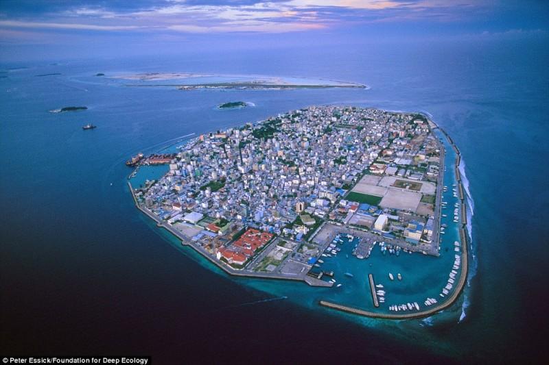 maldive innalzamento marea