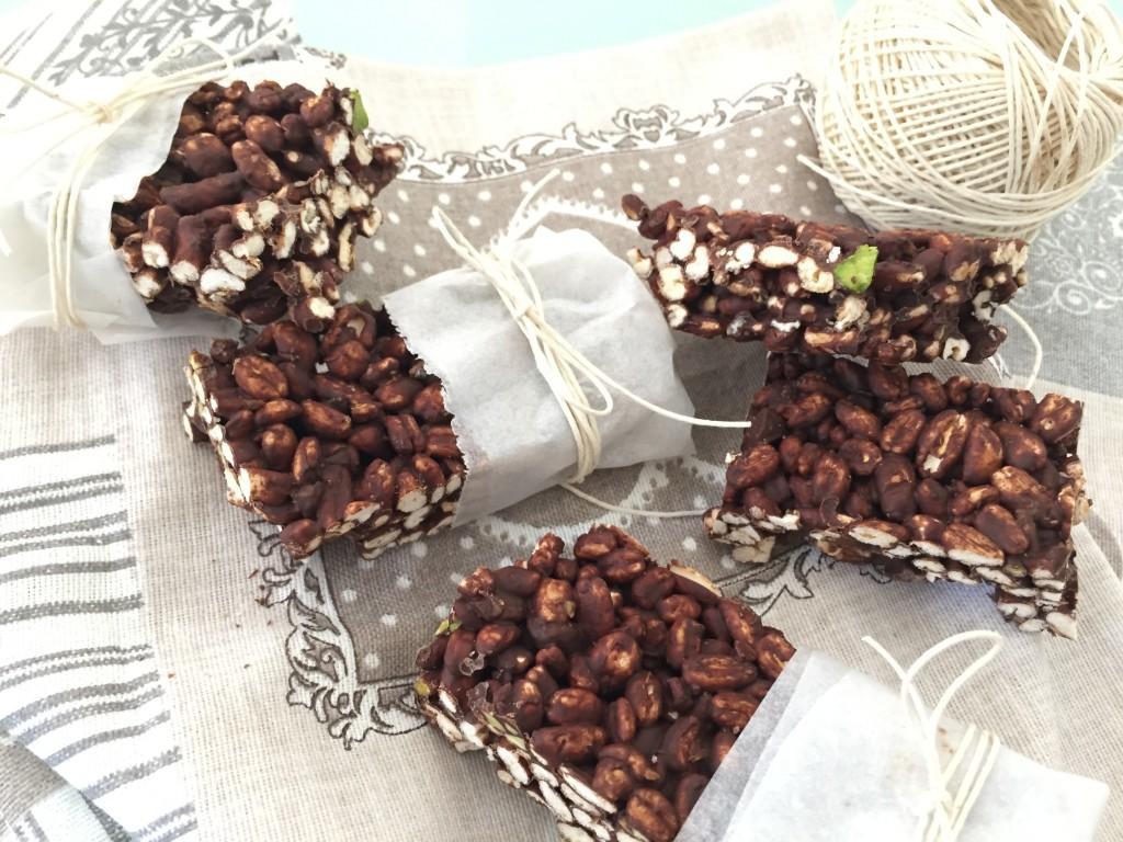 Barretta al Cioccolato e Farro fatta in Casa
