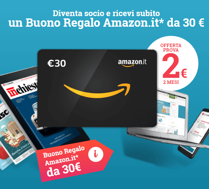 Buono Amazon 30€